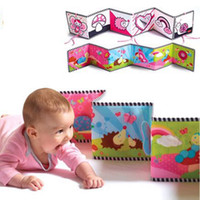baby play book - Baby Crib Hanging Toys Infant Coloring cloth book knowledge around multi touch multifunction fun and colorful intelligence developing toy