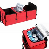 Wholesale New Outdoor Picnic Insulation Lunch Bags Thickened Trunk Organizer Cooler Food Thermal Cooler Bags Food Ice Bags Handbag LJJP399