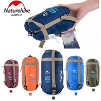 Wholesale NatureHike Outdoor Envelope color Ultralight Hiking Camping Hiking Mini Ultra Small Size mmx750mm Sleeping Bag