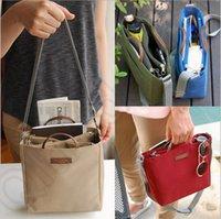 Wholesale Pick Handbag Interlayer Single Shoulder Bag Portable Double Zipper Messenger Bag Women Travel Storage Bag LJJO1060