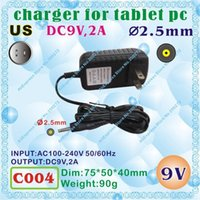 Wholesale C004 DC mm V A US power plug United States Standard Charger or Power adaptor for tablet pc onda sanei cube onn