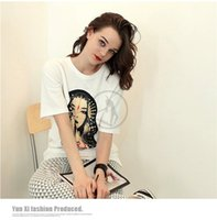 Wholesale Ms summer T shirt long big yards in the women s clothing in Europe and the render unlined upper garment