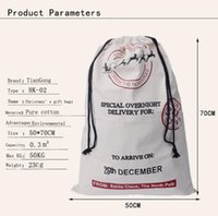 best heavy bag - A Best Christmas Gift Bags Large Organic Heavy Canvas Bag Santa Sack Drawstring Bag With Reindeers Santa Claus Sack for kids