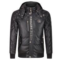best price down jacket coat - 2017 Autumn Winter Best Price Exclusive New Arrived Metal Logo High Quality Luxury Men Warm Hoodies Down Jacket Coat M XL