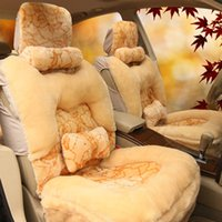 Wholesale Winter Plush Car Seat Covers Business Purpose Vehicle seats Car cushion seat cover Exported to Europe and America quanlity