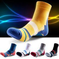 Wholesale Casual Mens Cotton Colorful Happy Socks Harajuku Gradient Color Business Dress Socks Diamond Plaid Long Socks