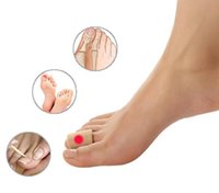 Wholesale Fiber Toes Separators Chick Eyes Bunion Protector Free Cut Sizes Hallux Valgus Relief Pain Corrector Toes