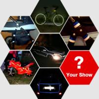 Wholesale Car Sticker cm m Reflective Tape Sheeting Styling Reflect Auto Motorcycle Bike Decoration Film Decal Whole Body Safety Warning
