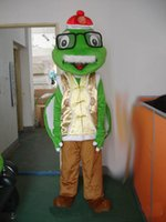 Mascot Costumes XXL Athletic & Sporty Hight quality cute old glasses Turtle mascot Costume custom cartoon character adult size carnival Halloween costume fancy dress