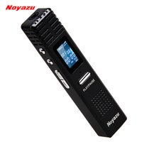 Wholesale Noyazu Original X1 GB Digital Voice Recorder hrs Long Time Recording MP3 Player Audio Original Professional Dictaphone Gift