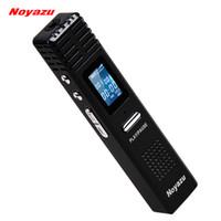 Wholesale Noyazu Original X1 GB Digital Voice Recorder hrs Long Time Recording MP3 Player Audio Original Professional Dictaphone Gift