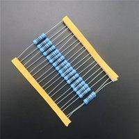 Venta al por mayor 20pcs 2W resistor de película de metal 680 ohm 680R +/- 1% RoHS sin plomo en stock DIY KIT PARTE resistor paquete de resistencia