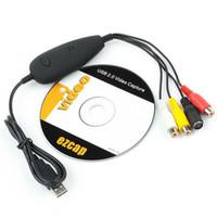 Wholesale 2016 Original EZCAP USB Video Capture Ezcap172 Game Captures for IPOD PSP or GP mobile phone