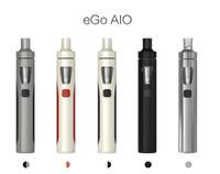 Precio de Mod baterías baratas-FESDEX Original Kit Joyetech EGo Aio 0.6ohm 1500mah batería kit de cigarrillo de mod e con atomizador de 2ml barato e cigarrillo