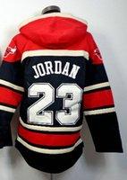 Wholesale Men s Rose Jordan Basketball Hoodie Hoodie Jacket with zipper Hoodies Sweatshirts