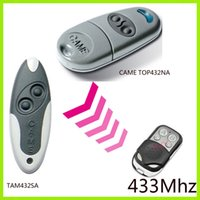 Wholesale CAME TOP Series Self learning mhz Universal Remote Control include