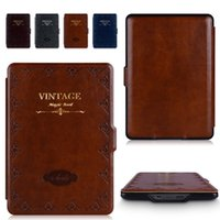 amazon book light - Kindle Paperwhite Case lighted slim PU leather cover fit for amazon kindle Paperwhite1 th generation Magic Book GIFT