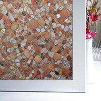 Wholesale Hot Sale Window Film Decorative Stained Glass Window Film Balcony Door Glass Film Window Stickers CM JC0306