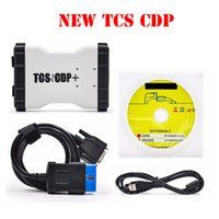 Wholesale 2PCS TCS CDP PRO With Free Keygen V2014 TCS CDP with Without Bluetooth TCS CDP PRO in1 Plus OBD2