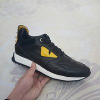 Wholesale 2017 real leather brand mens shoes casual black shoes Lace Up fashion shoes