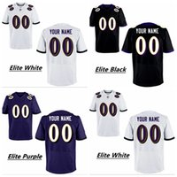 baltimore raven football - HOT SALE Men s Baltimore Raven Custom Elite Football Jerseys High Quality Stitched Any Name Number You Decide Three Colors Allowed
