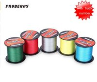 Wholesale PRO BEROS M PE Multifilament Braided Fishing Line Super Strong Fishing Line Rope Strands Carp Fishing Rope Cord LB LB