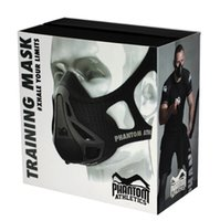 athletic fitness - Phantom Training Mask outdoor Fitness Equipment Athletics popular Mask sport mask DHL fast shipping