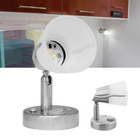 Wholesale 12V Swivel LED Frosted Glass Reading Lamp Cool White RV Marine Car Trailer Light