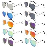 Hombres de moda UV400 gafas de sol de señora Sunglass marca de lujo de conducción polarizada pilotos gafas de sol para hombres YJ00105