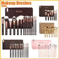 Wholesale Full Makeup Brushes Kit Pro Luxury Set Make Up Tools Kit Powder Blending Brushes