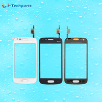 ace logo - For Samsung Galaxy Ace Front Touch Screen Digitizer Panel Glass DUOS Replacement with Logo Black White
