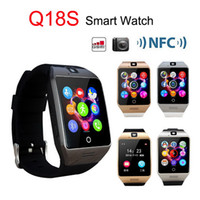 Apro Q18S NFC Smart Watch Camera GSM Sim TF Card Connexion Bluetooth Fitness Tracker Smartwatch pour Android iOS SmartPhone