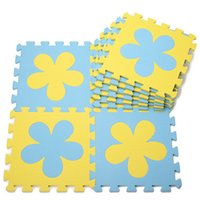 Wholesale Pc Cm Soft EVA Children s Splice Pattern Developing Crawling Rugs Play Puzzles Foam Mat Pad Floor Baby Kids Game Toys