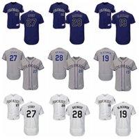 Wholesale Men s Colorado Rockies Nolan Arenado Todd Helton Charlie Blackmon Trevor Story Stitched Baseball Jerseys Best quality Mix Order