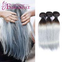 Straight amazing deals - Fairgreat A Brazilian Virgin Hair Sliver Grey Bundles Straight Cambodian Virgin Hair Bundle Deals Amazing Hair Company
