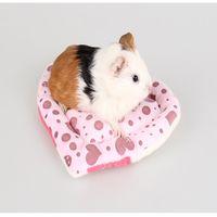 Wholesale Pet Nest Manufacturers Resistant To Bite Warm Cute Holland Pig Nest Guinea Pig Mat Small Pet Pad PP Cotton Soft Bed H