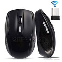achat en gros de desktop pc-2.4GHz USB optique sans fil Souris souris USB souris Smart Sleep économiseur d'énergie des souris pour ordinateur Tablet PC Ordinateur portable avec boîte blanche