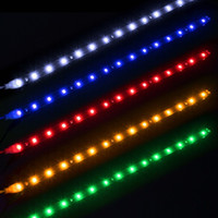 Wholesale Car Auto Decorative Flexible LED Strip Waterproof V cm SMD Car LED Daytime Running Light Car LED Strip DRL Light