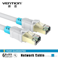 Vention Alta velocidad CAT6 RJ45 Cable de red Ethernet 1M 1.5M 2M 3M 5M Oro-plateado Ordenador LAN Cable de Internet