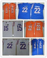 Wholesale 2017 Florida Gators College Football Jerseys Men s Tim Tebow Jersey E Smith Color Blue White Orange Stitched Embroidery Logos