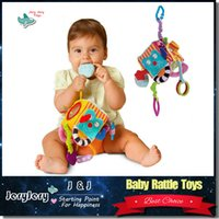 baby rattles teethers - Baby Lovely Stroller Hanging Bed Bells Plush Toys Baby Rattles Newborn Early Educational Doll Teddy Teethers