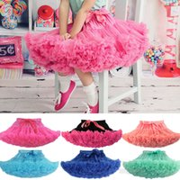 Discount ruffles cakes - Baby Kids Girls Cake Skirts Pettiskirts Tutu Fluffy Butterfly Ruffle Skirts Dance Party Dancewear Ballet Princess Christmas Skirt 0-10Ys