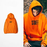 america tours - Tide brand in Europe and America with the money Bieber Bieber FOG Tour High Street Orange hooded Hoodies men and women