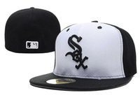 animal shopping online - 2017 Chicago White Sox Baseball Caps Fitted Hats Fashion Hip Pop Sox Street Hats Online Shopping