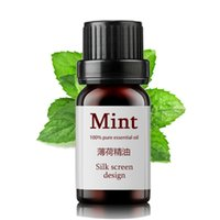 Wholesale Natural Aromatherapy Mint Pure Essential Oil Remove Scar Refreshing Anti Blackheads Pimples Shrink Pores Body Massage Oil ml