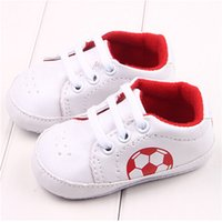 Wholesale Autum Infant Baby Girls Shoes PU Leather Sports Shoe Soccer Sneakers Toddler prewalker Baby footwear anti slip first walker