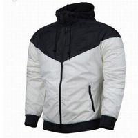 Wholesale Fall NK thin windrunner Men Women sportswear high quality waterproof fabric Men sports jacket Fashion zipper hoodie