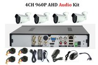 Wholesale Lucker Security Techege CH NVR P HDMI MP AHD camera IR Weatherproof Outdoor P CCTV Camera Security System Kit