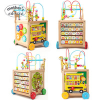 baby wood walker - Mother s Choice Multi function wood baby walker for learn figure and word as toy MCT1001