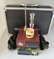 Vaporisateur herbal numérique France-Nouvelle version améliorée D Nail Kit Digital Mini Portable Electric Dab Nail Titanium Nail Domeless pour vaporisateur de cire Dry vaporisateur à base de plantes